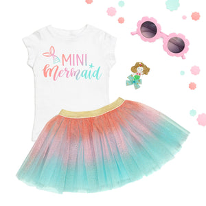 Sweet Wink Tutu - Coral Ombre 12-24m