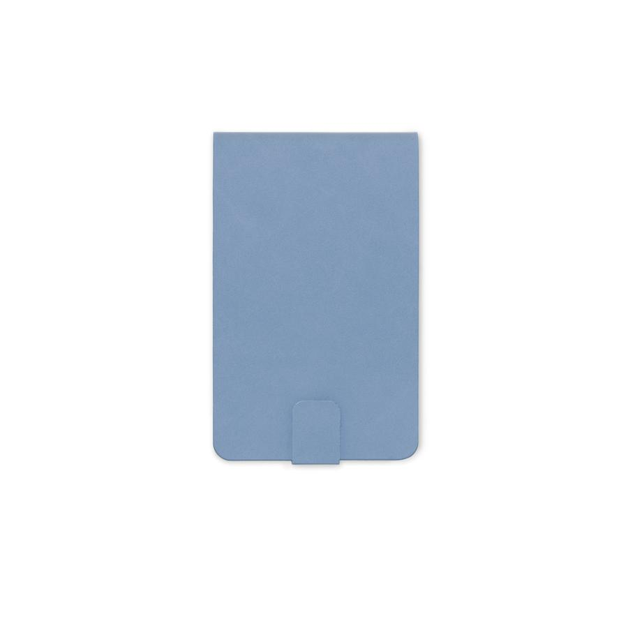 Vegan Suede Notepad - Cornflower Blue