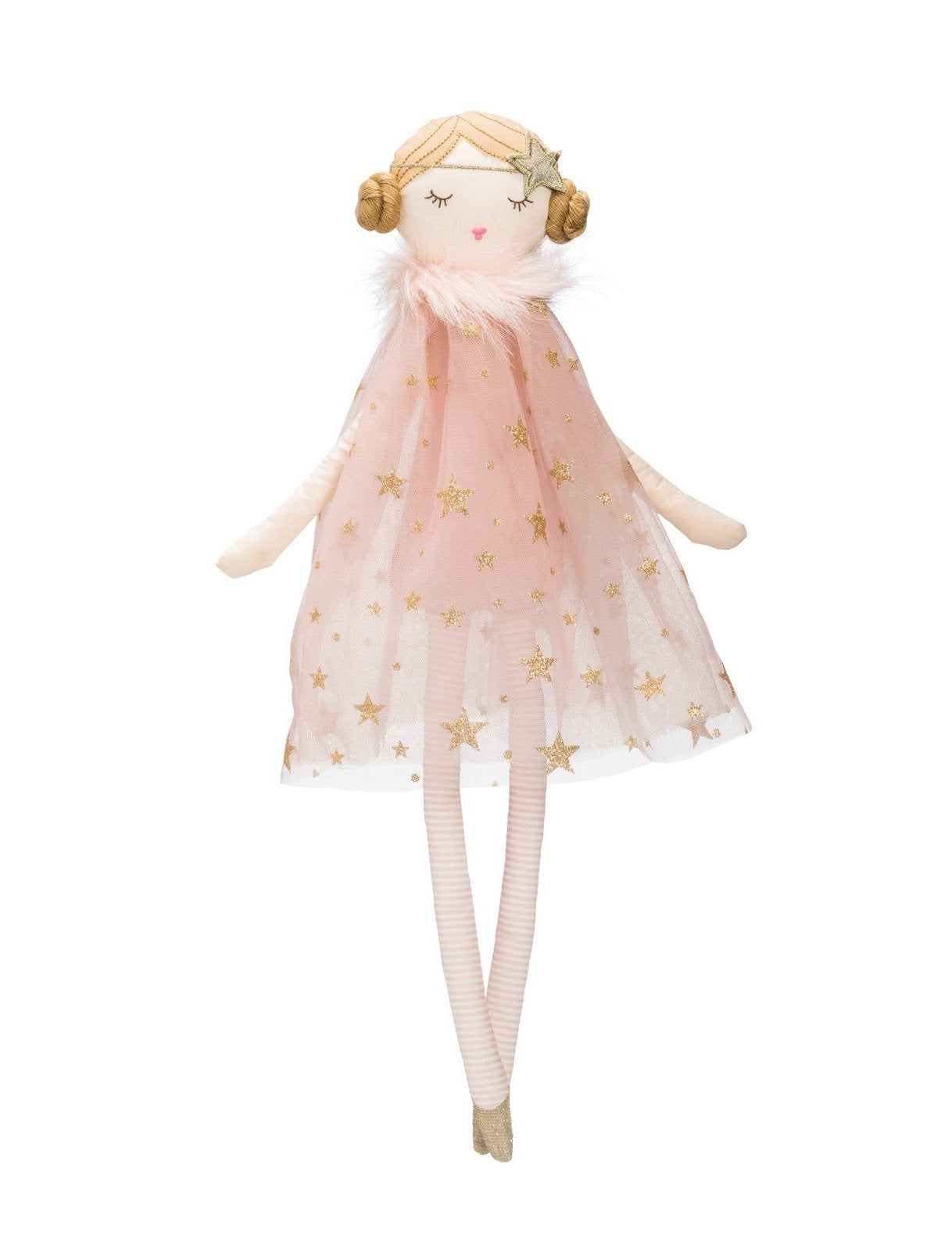 Cotton Doll - Sparkle Star Tulle Dress