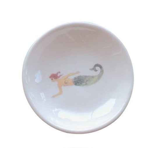 Mermaid Sea Life Ceramic Dish