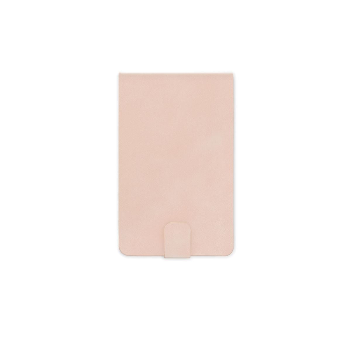 Vegan Suede Notepad - Dusty Blush
