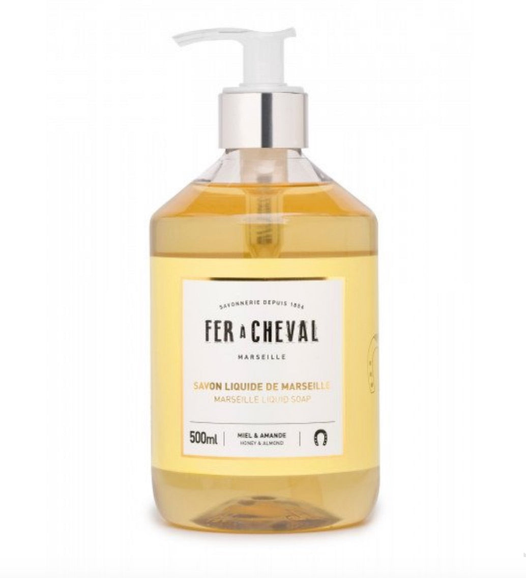 Fer A Cheval Liquid Soap - Honey & Almond