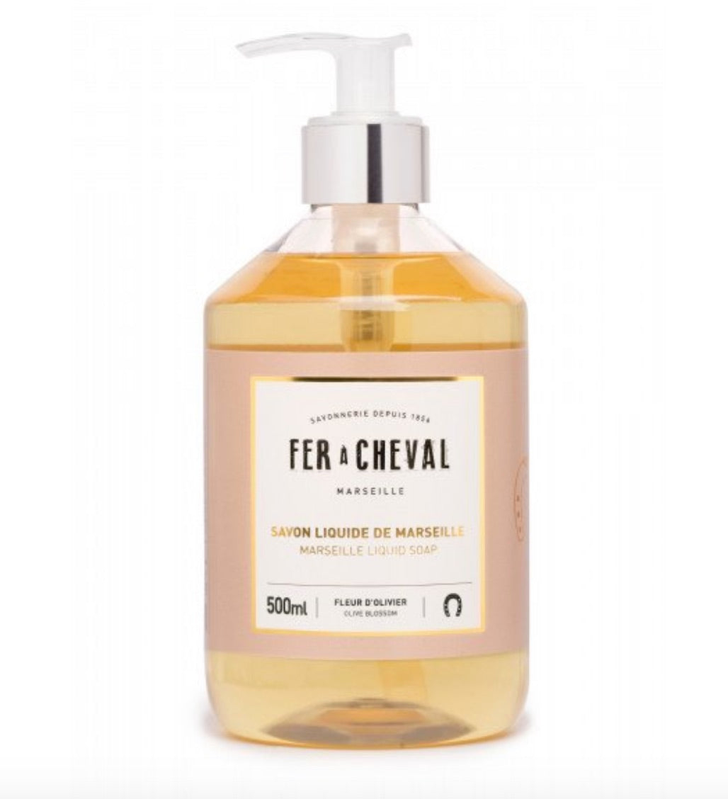Fer A Cheval Liquid Soap - Olive Blossom