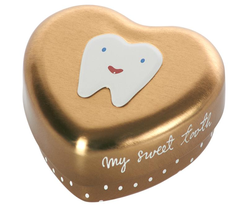 My Tooth Box - Gold