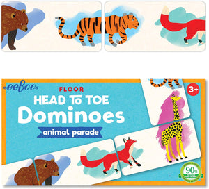 Head to Toe Dominoes Animal Parade