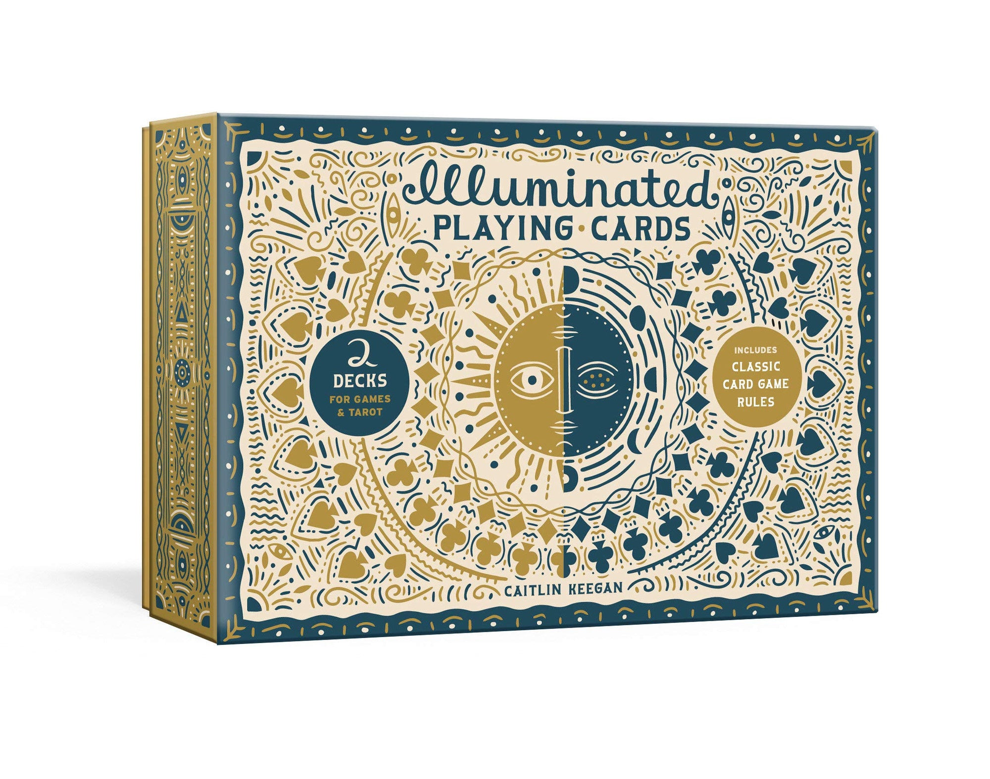 Illuminated Playing Cards: 2 Decks for Games and Tarot
