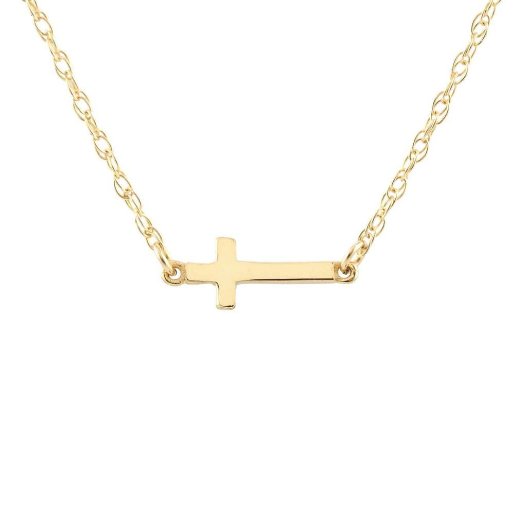 Kris Nations Cross Charm Necklace