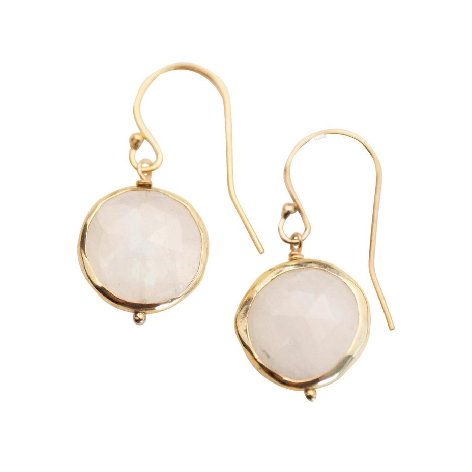 Kristen Earrings - Moonstone