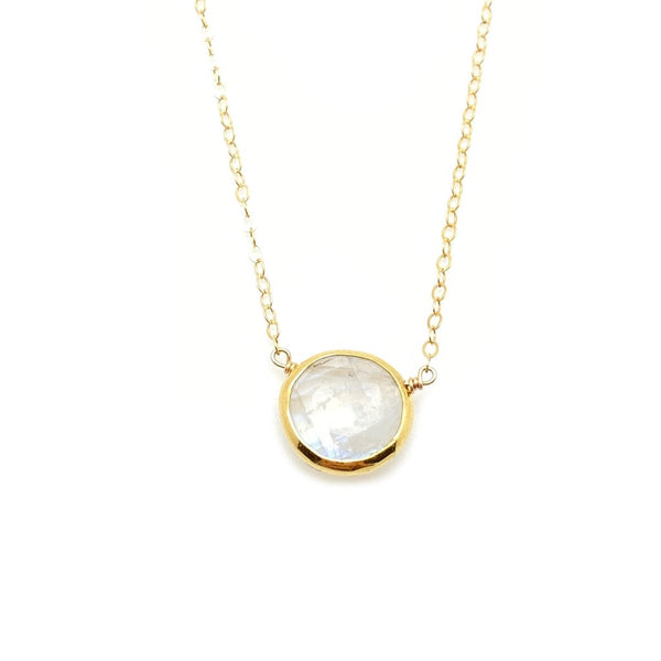 Kristen Necklace Moonstone