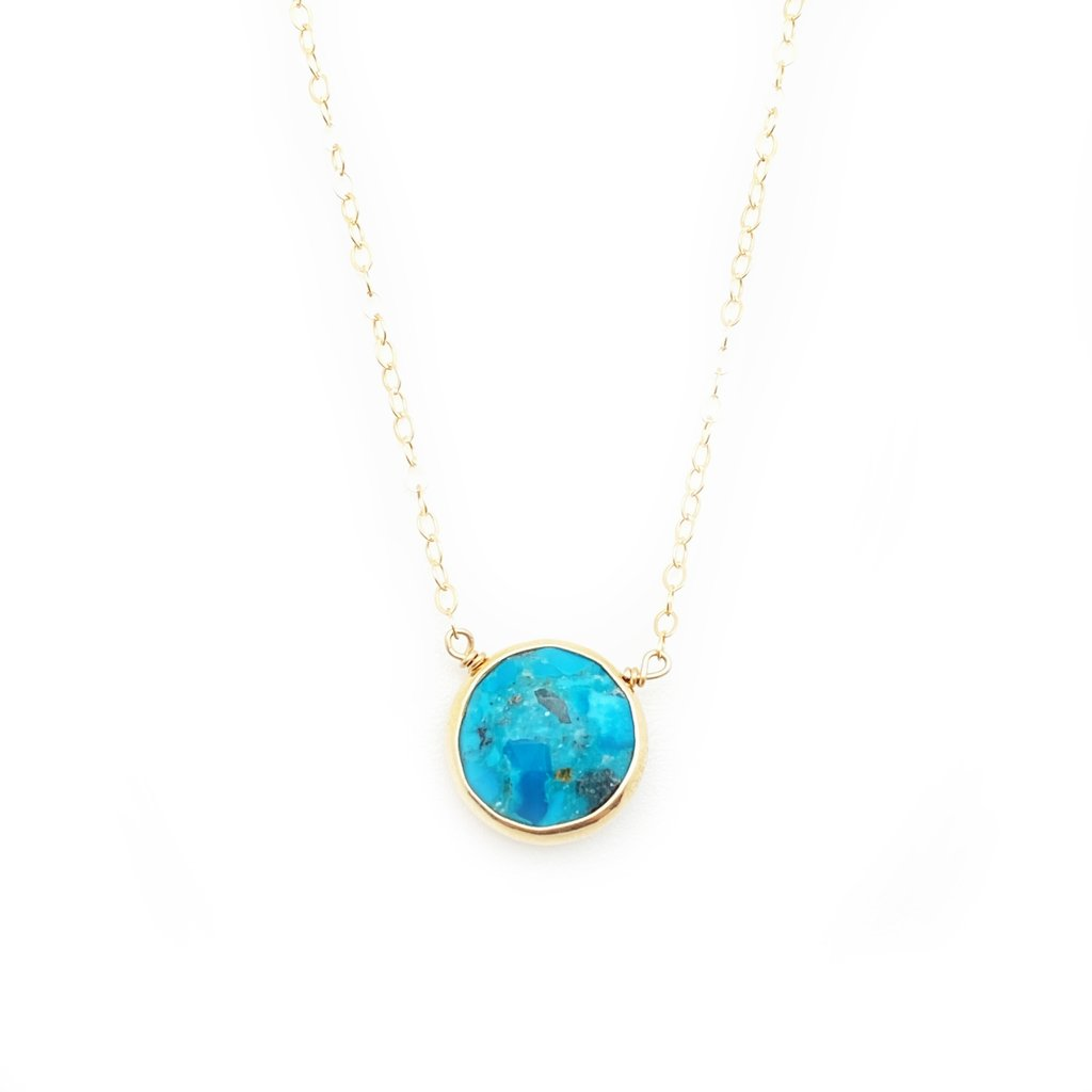 Kristen Necklace - Turquoise