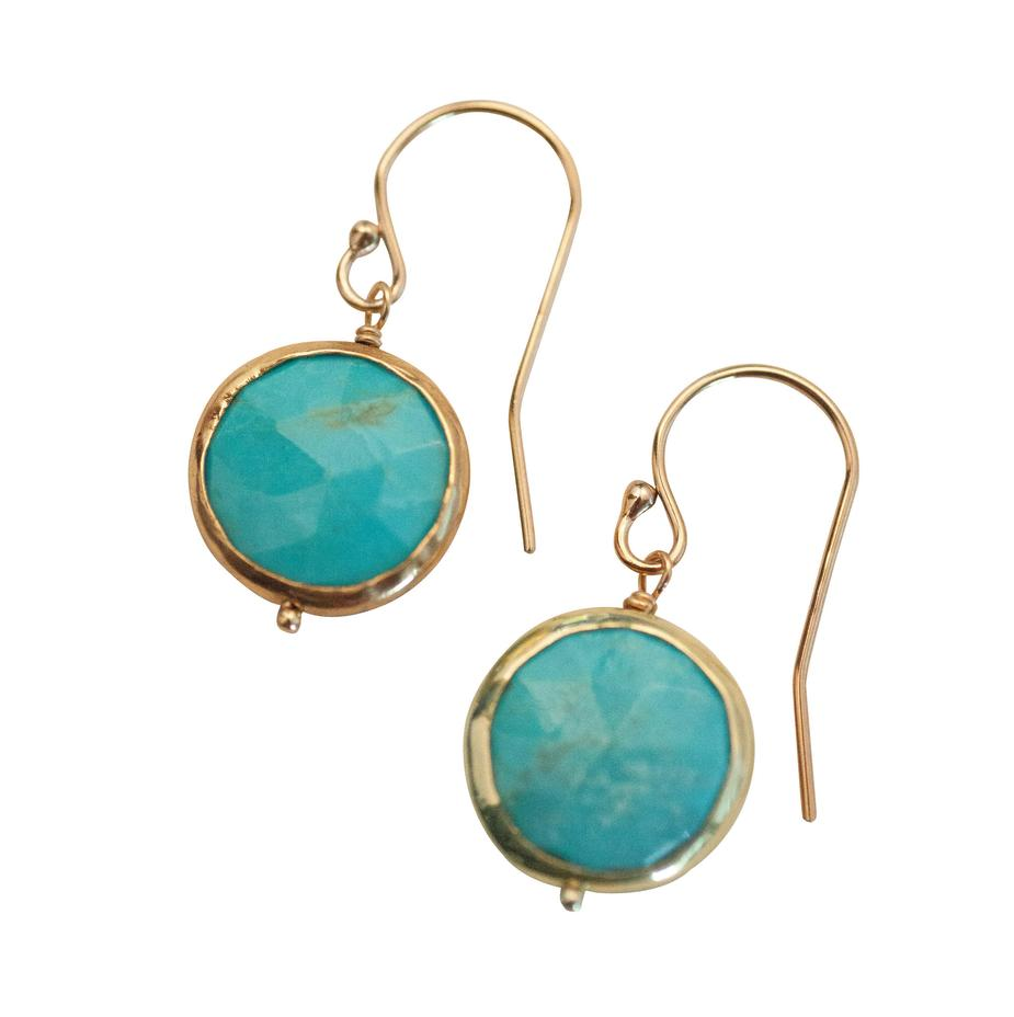 Kristen Earrings - Turquoise