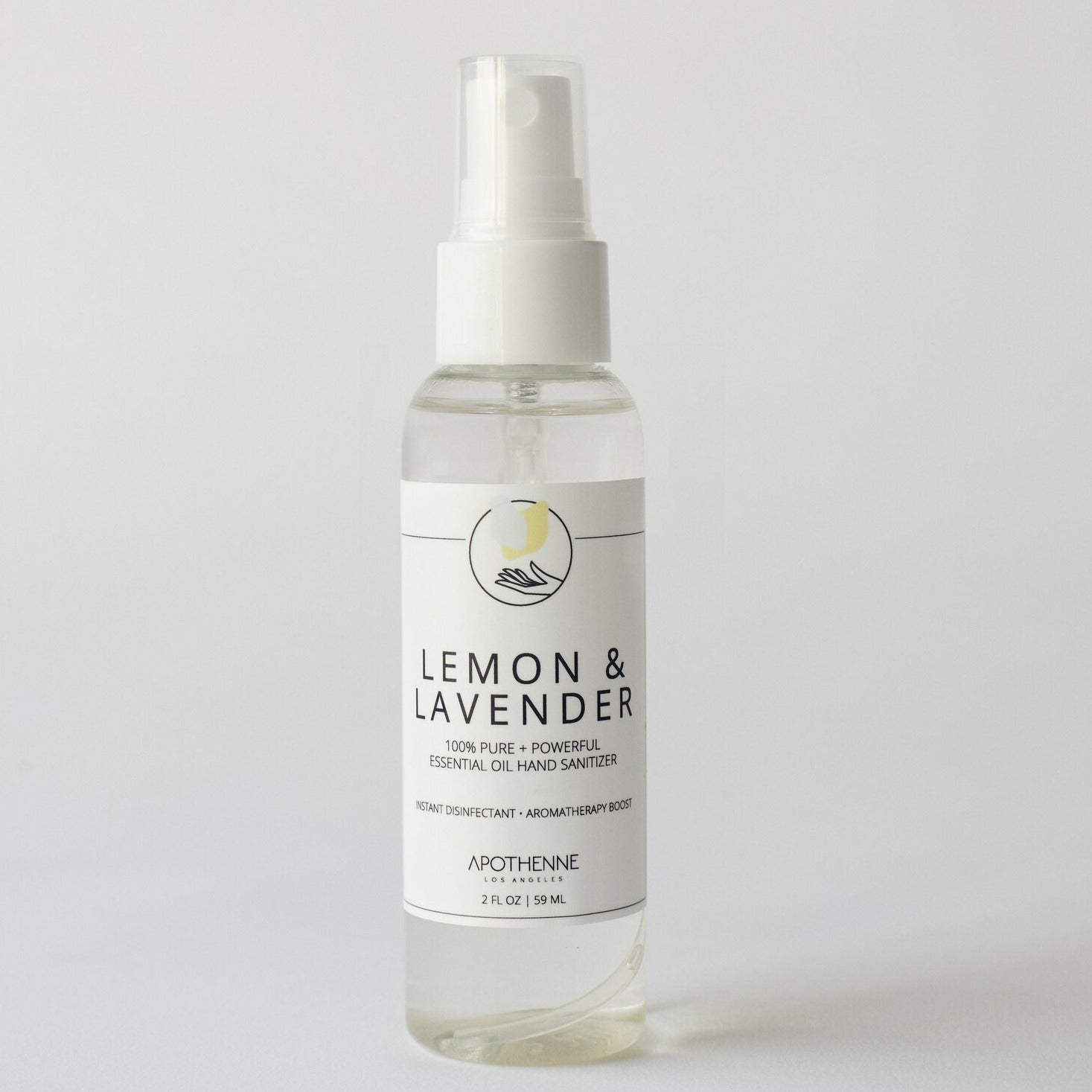 Lemon + Lavender Hand Sanitizer
