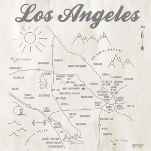 Los Angeles Maptote