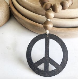Love Beads - Brown Peace