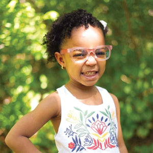 Kids Blue Light Blocking Glasses - Max Pink