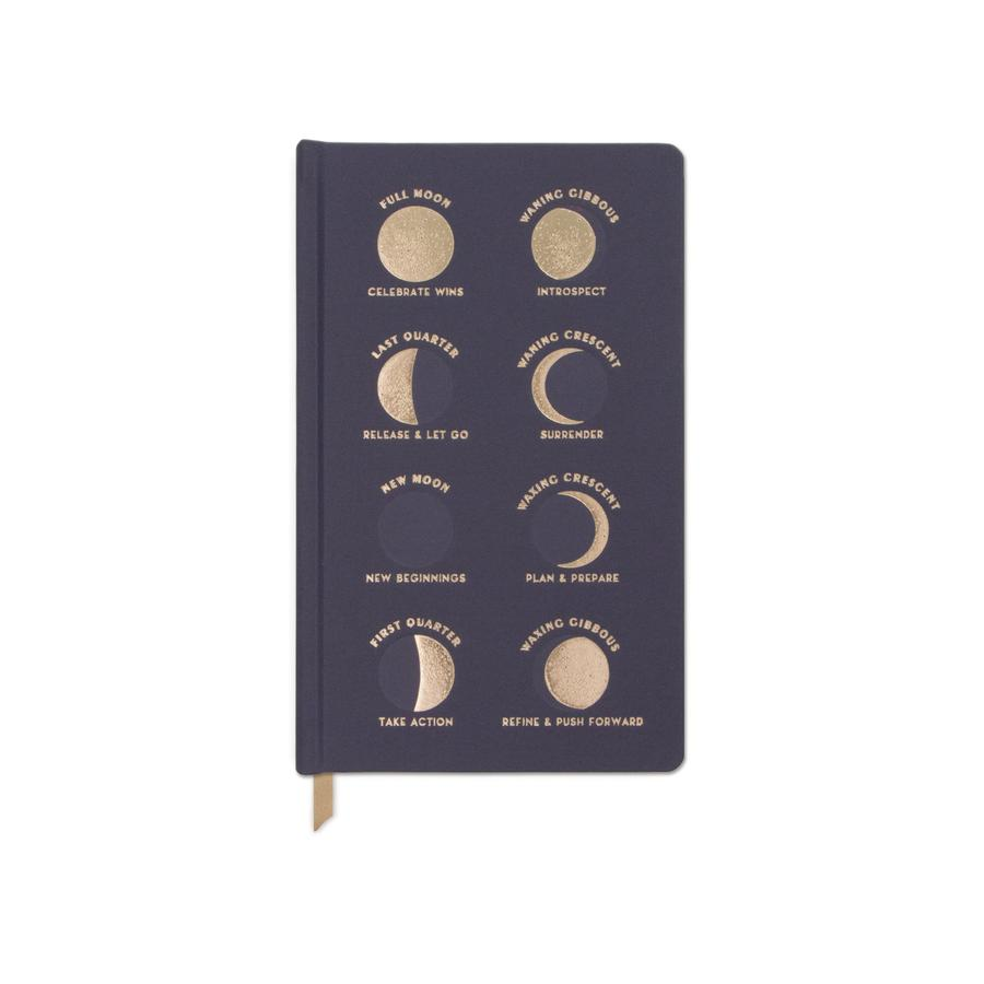 Charcoal Moon Phases Journal