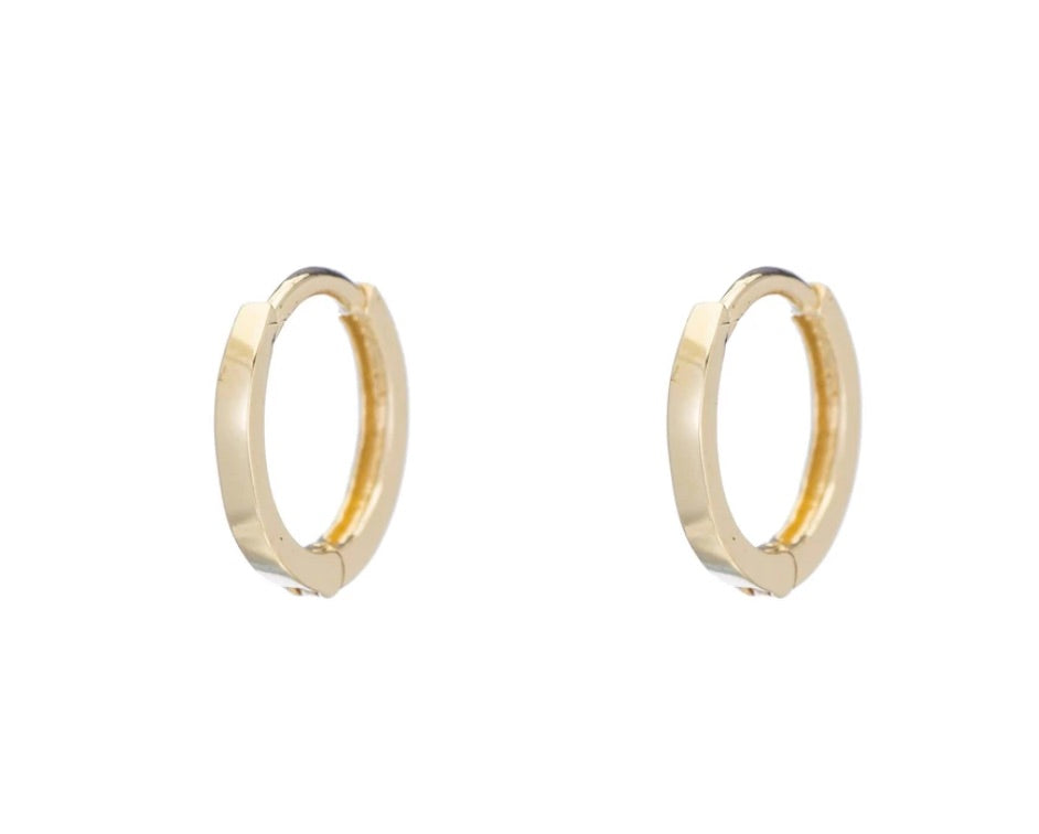 Ariel Gordon Petit Hoops 14k Gold