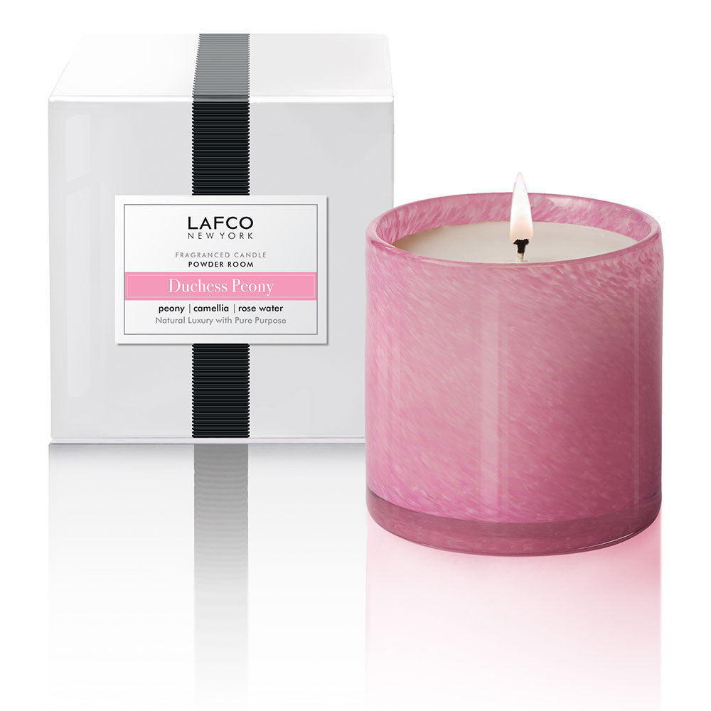Lafco Room Candle - Powder Room (Duchess Peony)