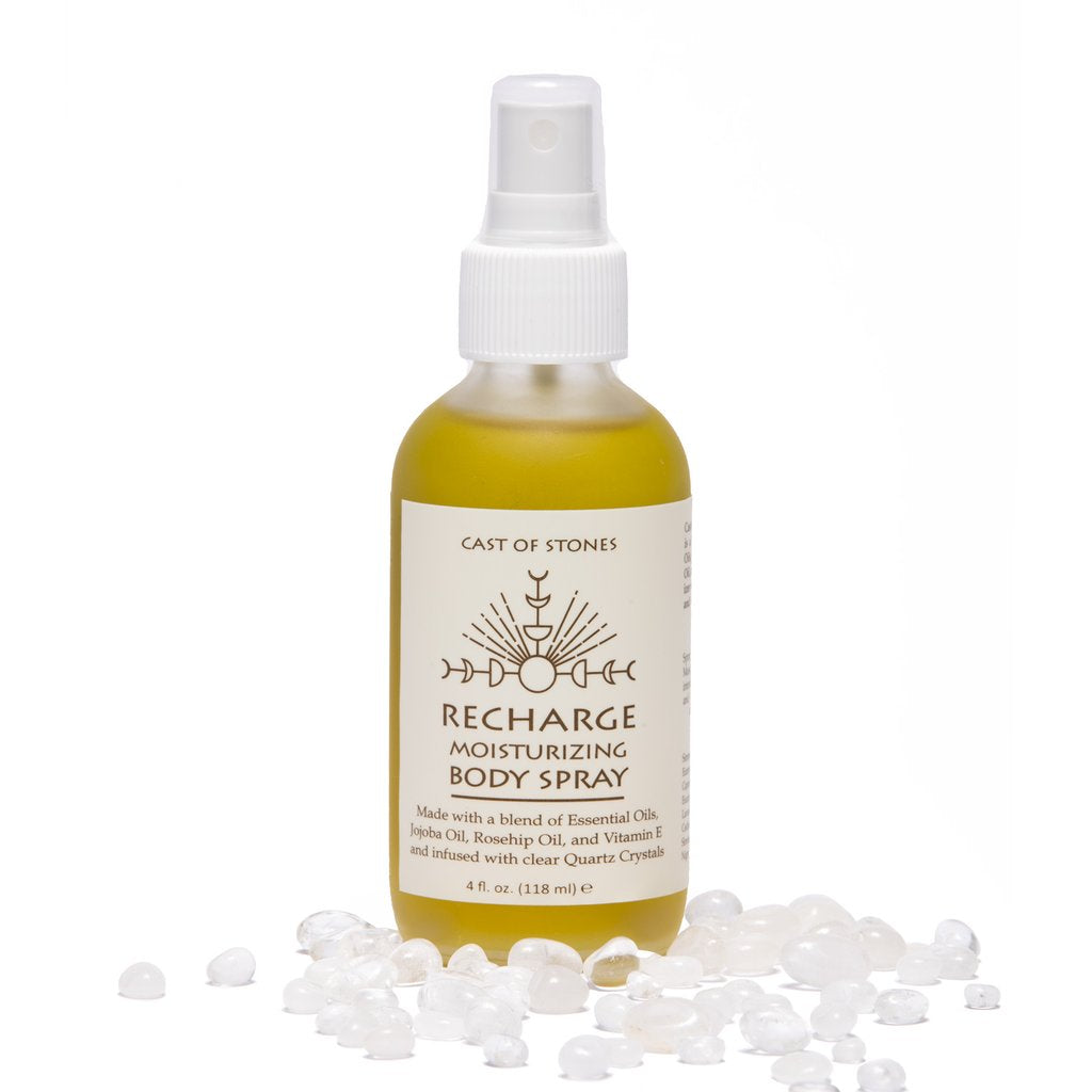 Recharge Moisturizing Body Spray with Quartz Crystals
