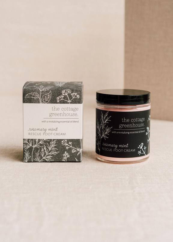 Rosemary Mint Rescue Foot Cream