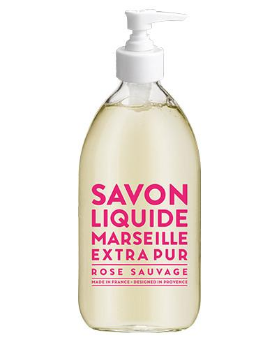 Savon de Marseille Extra Pure Liquid Hand Soap - Wild Rose