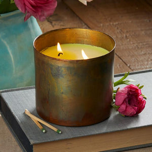 Dharamsala Copper Candle - Ancient Philosophy