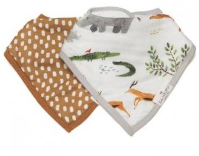Safari Jungle Bib Set