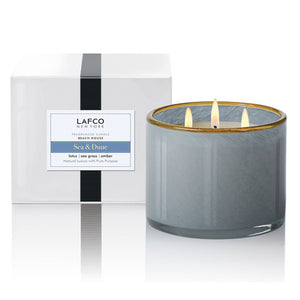 Lafco 3-Wick Room Candle - Beach House (Sea & Dune)