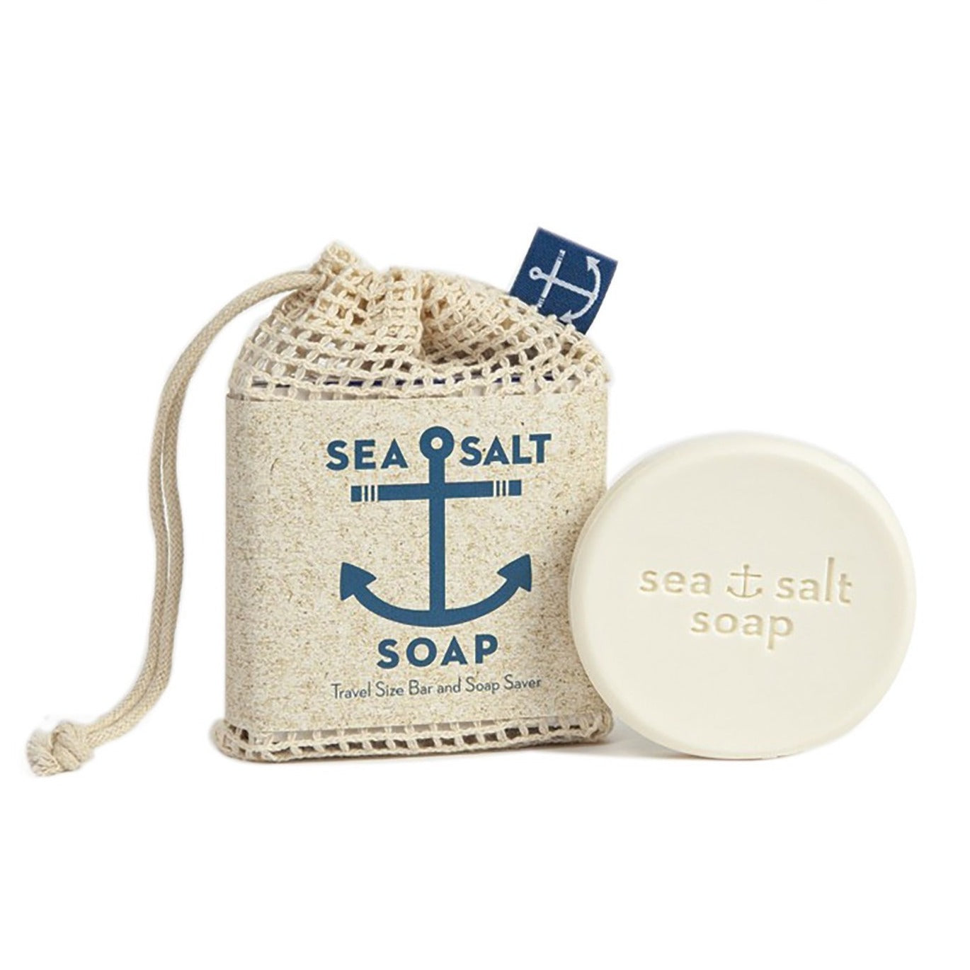 Sea Salt Soap Travel Size Bar & Bag