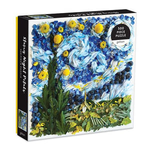 Starry Night Petals 500 Piece Puzzle