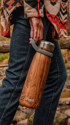 S'Well 40 oz Teakwood Traveler