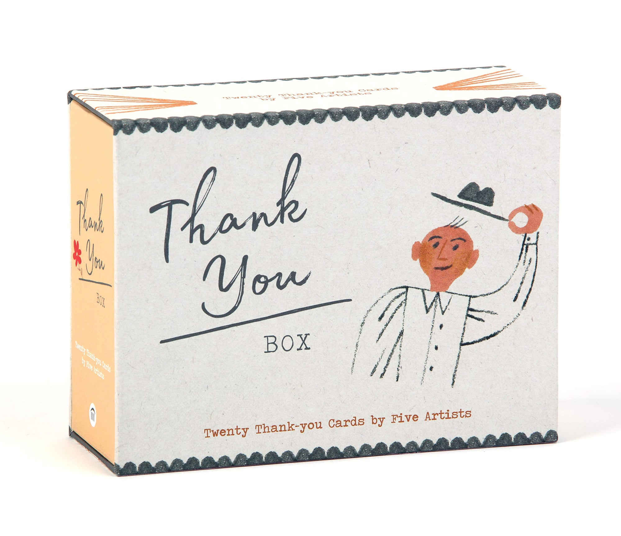 Thank You Box: 20 Thank You Cards
