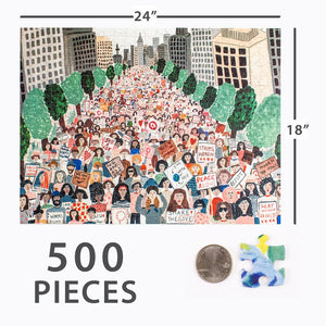 The Movement 500 Piece Puzzle