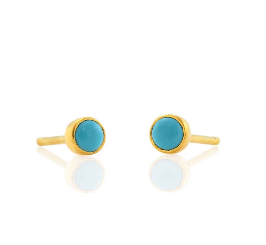 Kris Nations Turquoise Studs