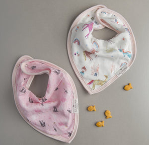 Unicorn Dream Bib Set