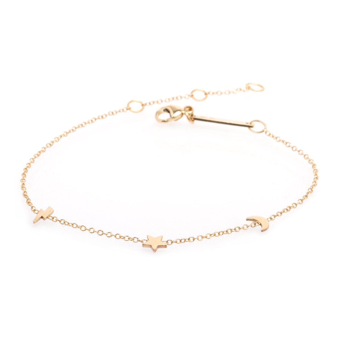 Zoe Chicco 14k Gold Itty Bitty Night Sky Bracelet