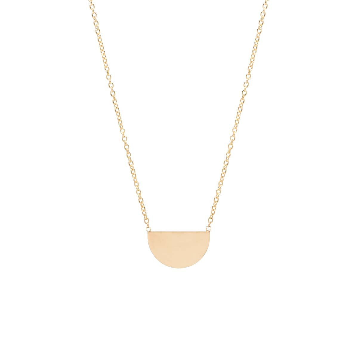 Zoe Chicco 14K Gold Small Horizon Necklace