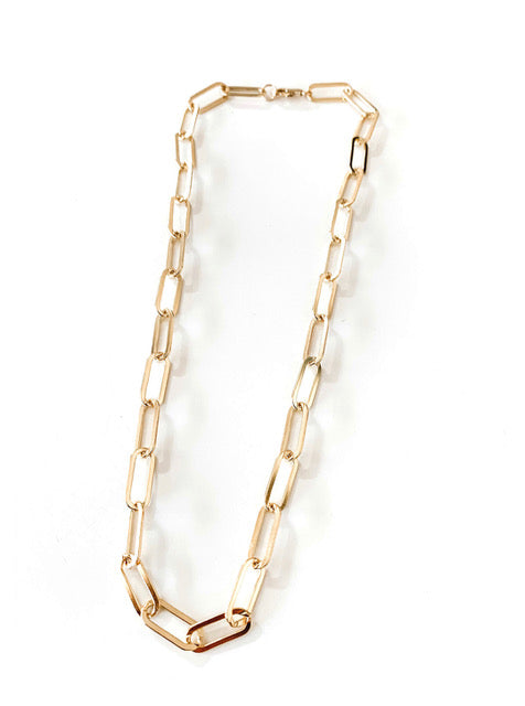 Zoe Chain Link Necklace