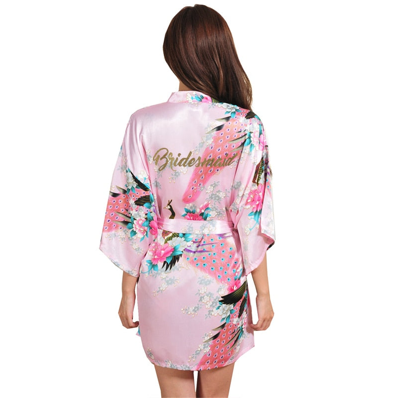 Floral Bridesmaid Robe