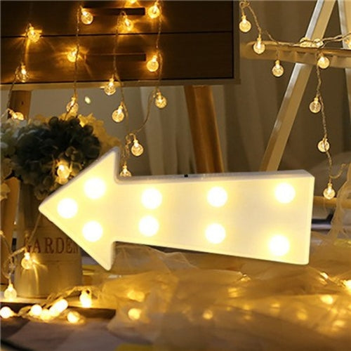 Romantic Wedding Letter Lights