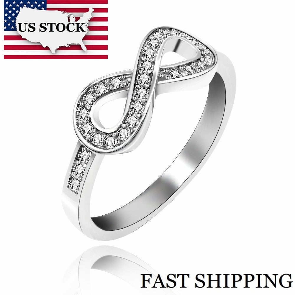 Infinity Wedding Ring for Women