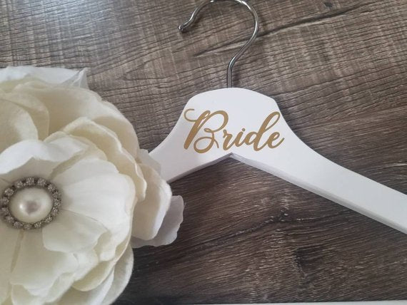 Personalized Wedding Hangers, Bridesmaid hangers