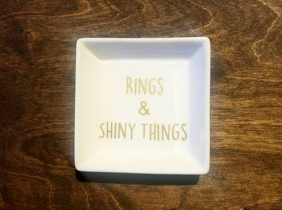 Rings and Shiny Things Ring Dish / Ring Holder