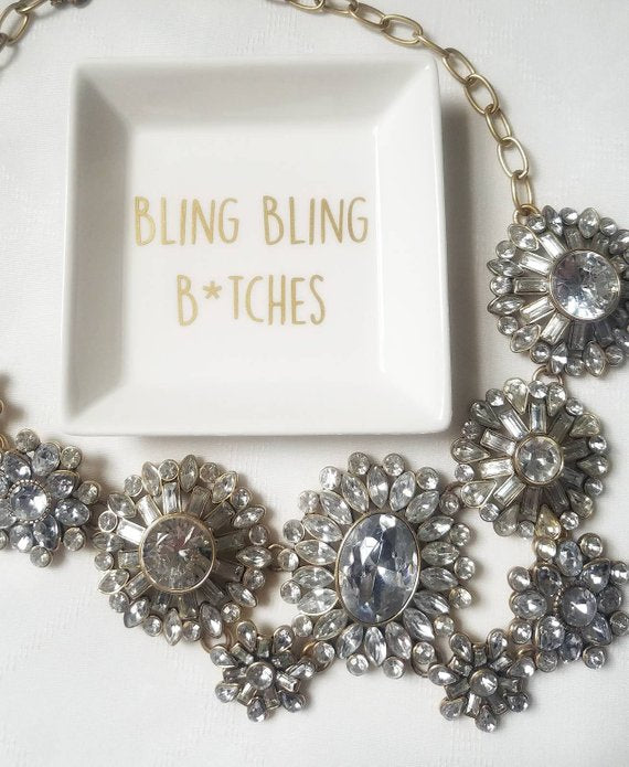 Bling Bling Ring Dish / Ring Holder