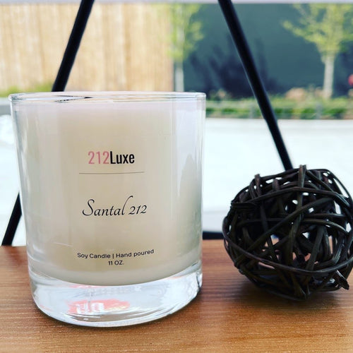 Santal Luxury Soy Wax Candle