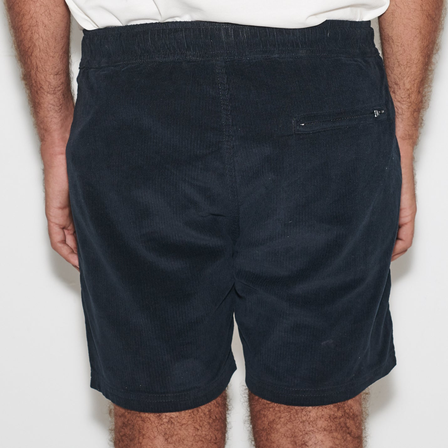 PANAMA CORD WALKSHORT BLACK