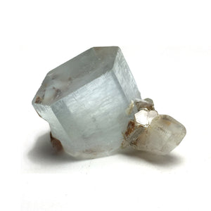 Aquamarine crystal with Mica specimen