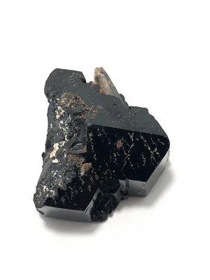 Black Tourmaline + Smoky Quartz Specimen