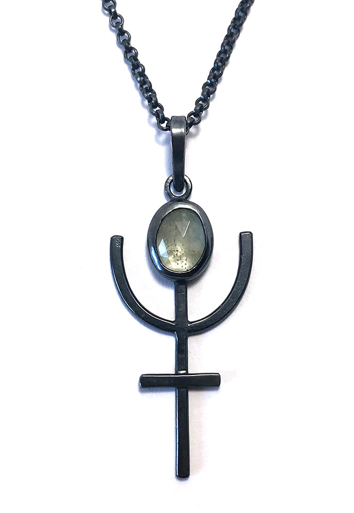 Alex Lozier Jewelry. Neptune's Trident Pendant from the Mermaid Collection.