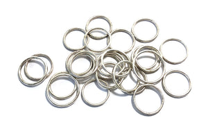 Stackable Forged Band Rings